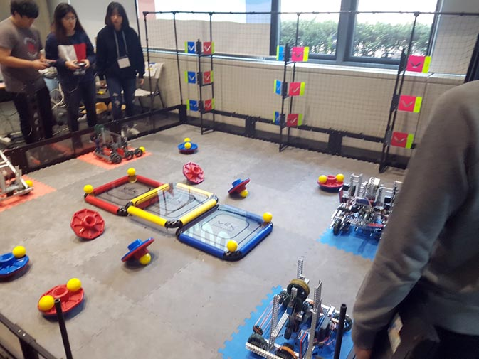 November VEX Robotics Competition/Scrimmage 2018