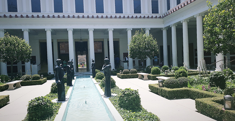 Visiting the Getty Villa in California