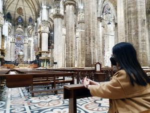 The Comforting Mass in Milan Cathedral